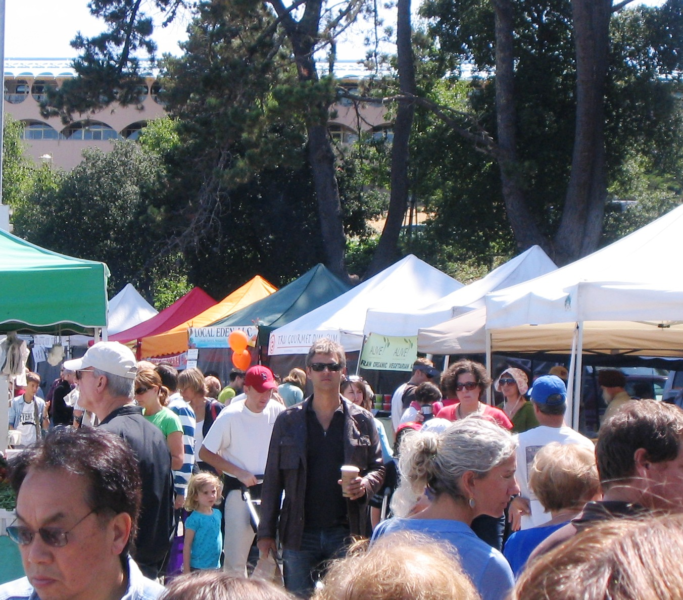 Marin Farmers Market Food